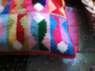 Birds and needlepoint and bunting 004