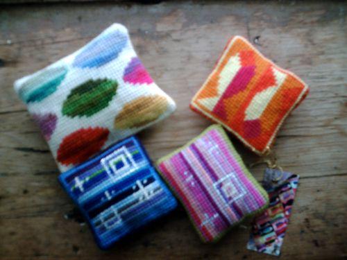 Needlepoint pincushions# 006