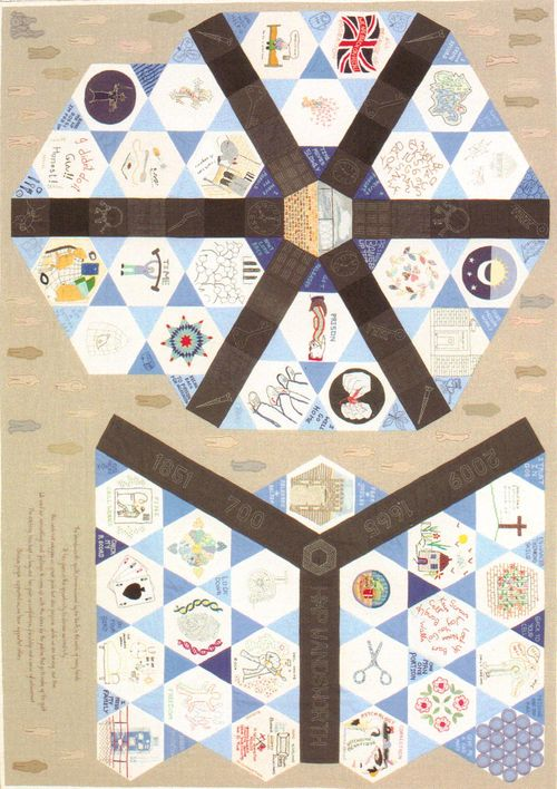 Quilts - Fine Cell work1