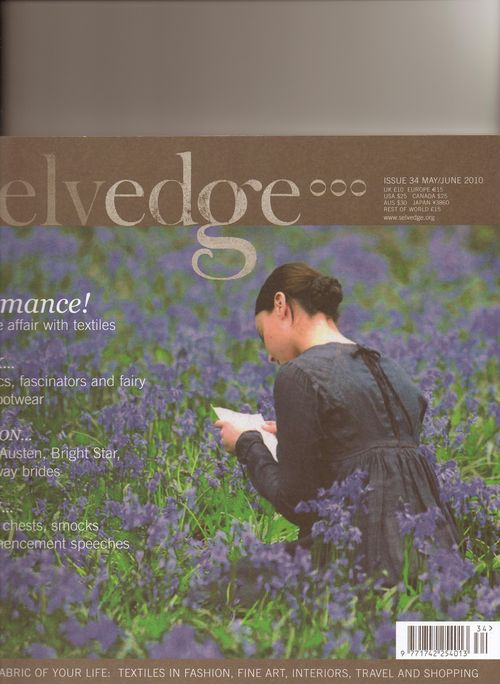 Selvedge new issue