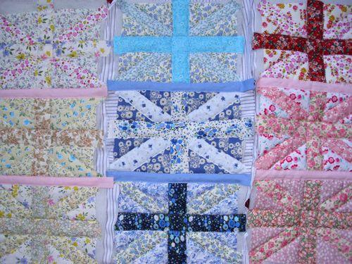 Quilt being assembled 002