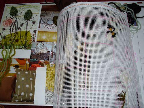 Autumnal cushion 002