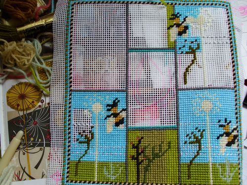 Teazels and needlepoint 002