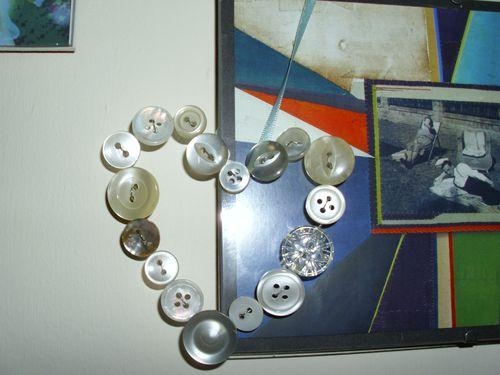 Button heart 002